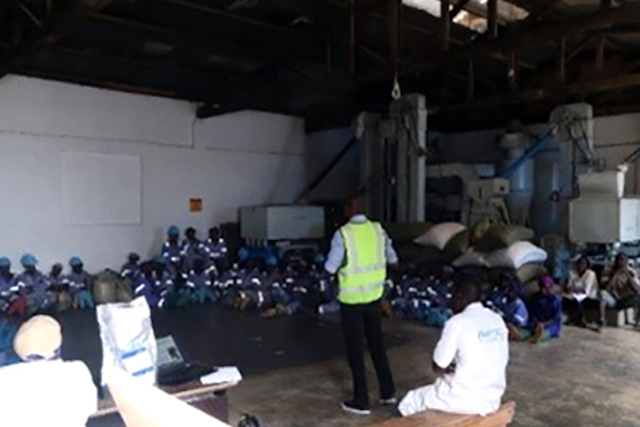 Employees of Musoma Food Company
