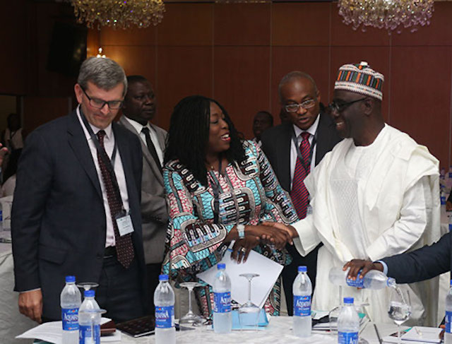 launch event of Strengthening African Processors of Fortified Foods Project in Lagos, Nigeria