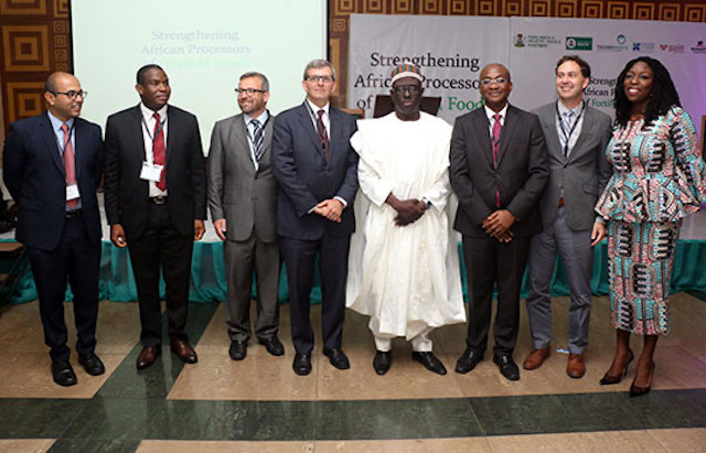 Project launch for Strengthening African Processors of Fortified Foods Project in Lagos, Nigeria