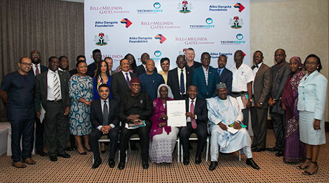 CEO's of Nigeria gathered to combat malnutrition