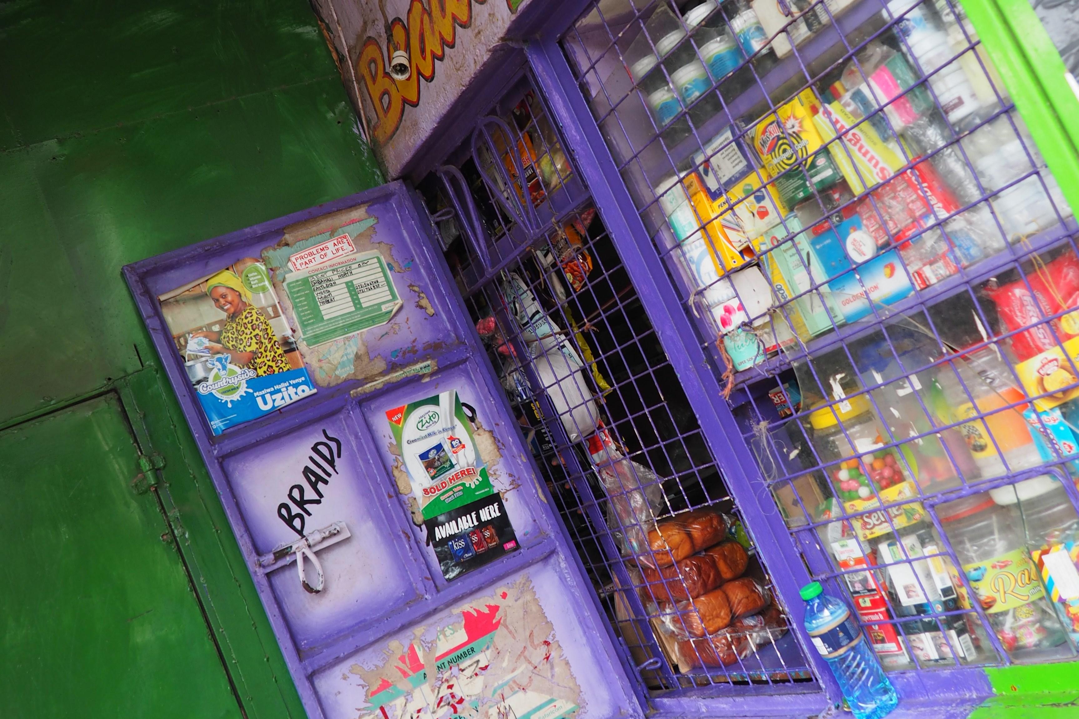 Display of snacks for school children
