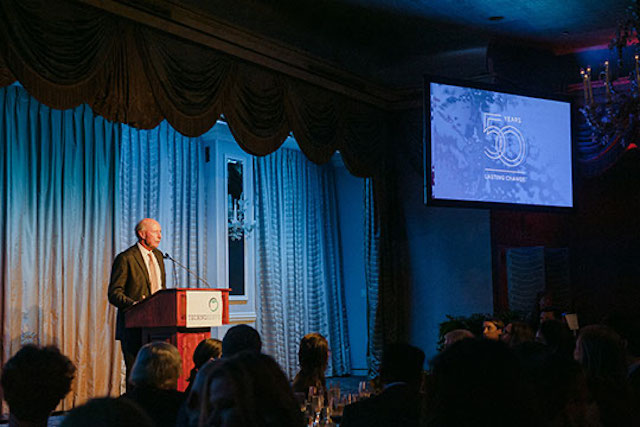 Paul Tierney speaks at TechnoServe's 50th Anniversary Gala