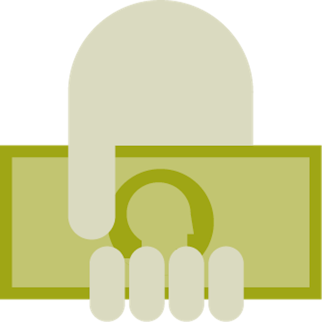 financial benefits indicator icon