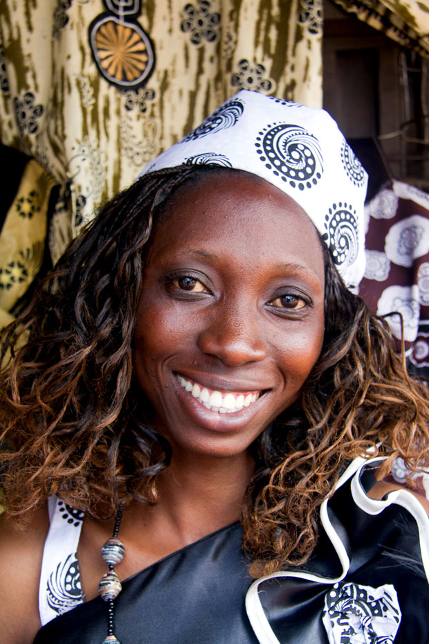 Young entrepreneur in Kenya opens a tailoring business in her community