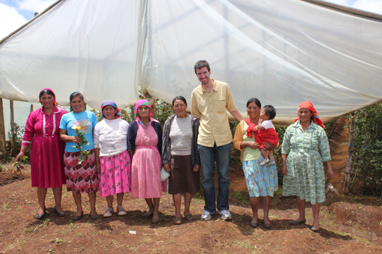 TechnoServe employee hosted by indigenous women of Honduras