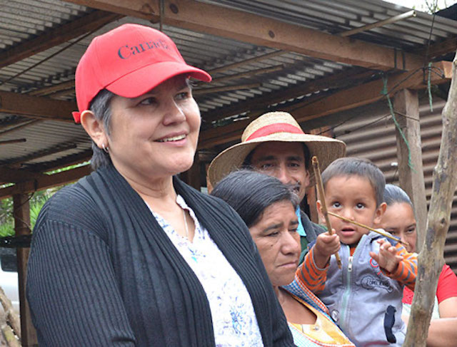 Deborah Chatsis visits farmers